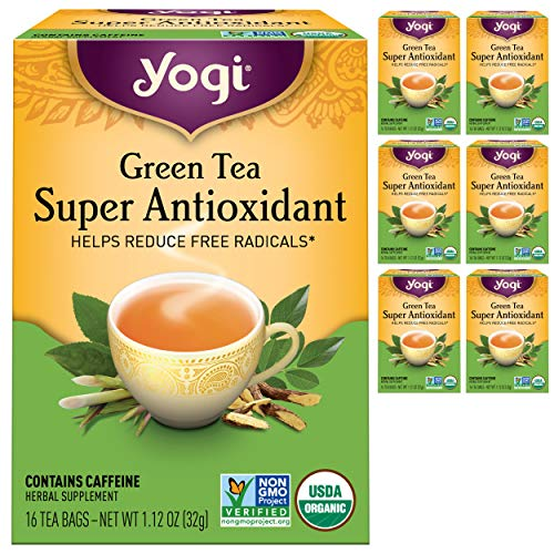 Yogi Organic Green Tea Super Antioxidant