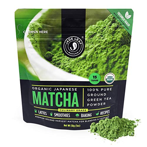 Jade Leaf Organic Matcha Green Tea Powder