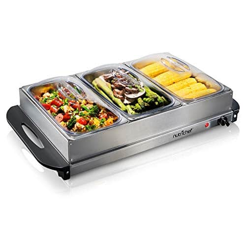 NutriChef Buffet Food Warmer