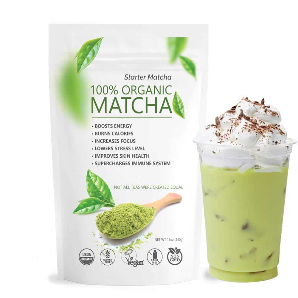 Starter Matcha Pure USDA Organic Green Tea Powder