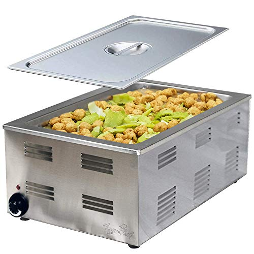 Tiger Chef Full Size Countertop Food Warmers