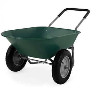 Top 10 Best Dual Wheel Wheelbarrow Reviews – Buyer's Guide
