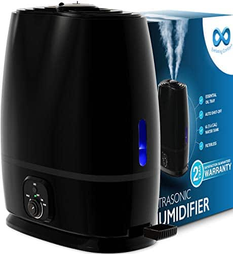 Everlasting Comfort Humidifier for Bedroom