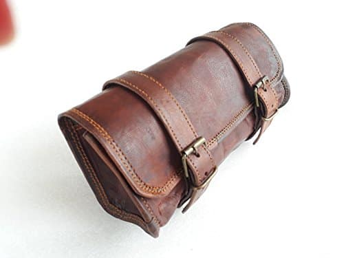 The Vintage Stuff Leather Handlebar Bag
