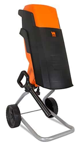 WEN 41121 Rolling Electric Wood Chipper and Shredder