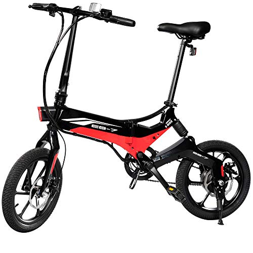 Swagtron EB-7 Elite Folding Electric Bike