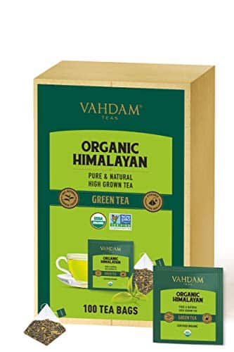 VAHDAM Organic Green Tea from the Himalayas