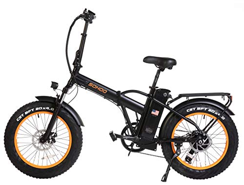 Sohoo 48V500W12AH Folding Electric Bike