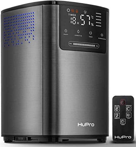 Hupro Premium Ultrasonic Cool & Warm Mist Humidifier