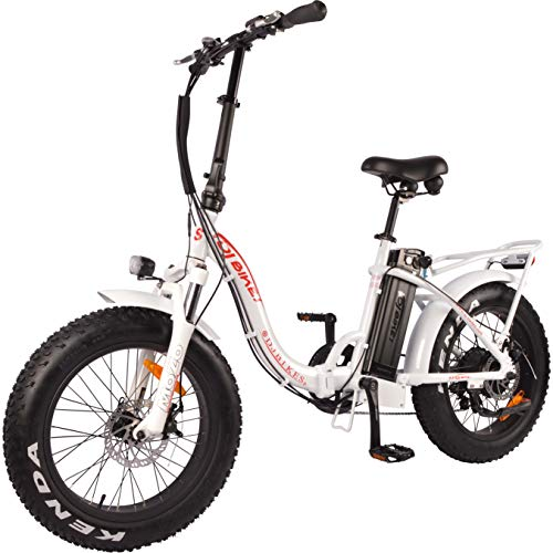 DJ Folding Bike Step Through Electric Bicycle