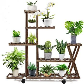 Top 10 Best Outdoor Plant Stands for Multiple Plants – Buyer's Guide