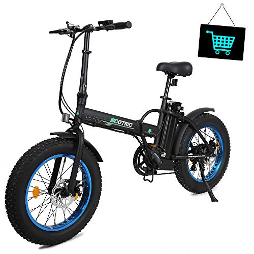 KUAFU Fat Tire Folding Electric Bike