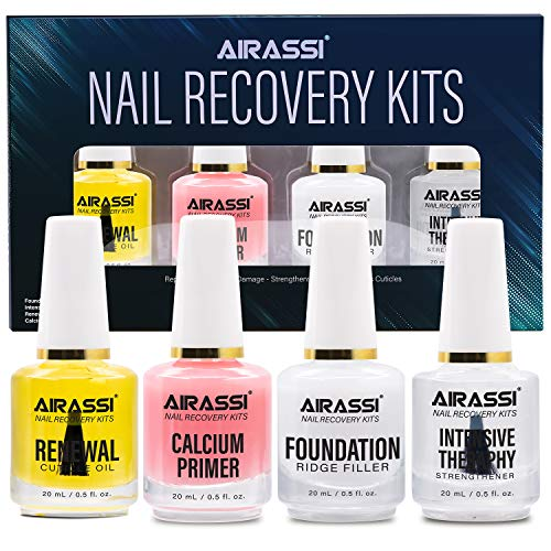 Airassi Nail Recovery Kit with Ridge Filler